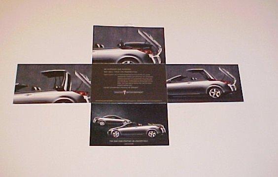 2006 Pontiac G6 Hardtop Convertible Factory Brochure
