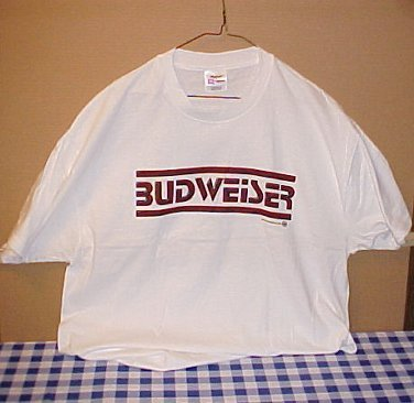 Budweiser Beer Block Party New Extra Large Tee Shirt