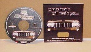 2005 Jeep Grand Cherokee Video Brochure & Music CD