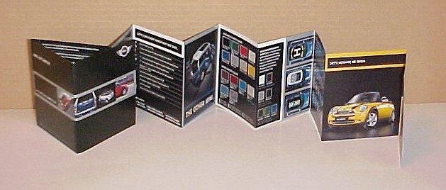 2008 Cooper Mini New Limited Edition Brochure