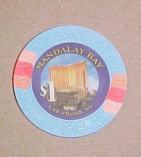 Mandalay Bay Las Vegas Hotel Casino Poker Chip