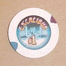 Excalibur Las Vegas Hotel & Casino Poker Chip