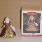 1996 Hallmark Keepsake Holiday Barbie Ornament In Box
