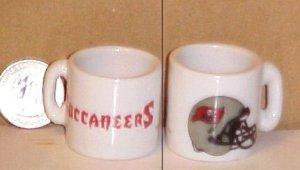Tampa Bay Buccaneers NFL Football Porcelain Coffee Mug