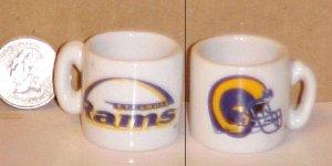 St. Louis Rams NFL Football Porcelain Coffee Mug