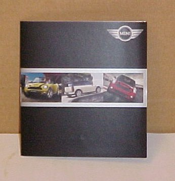 2009 Cooper Mini New Limited Edition Brochure