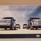 2009 Land Rover New Premier Full Line Brochure
