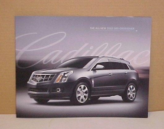 2010 Cadillac SRX Crossover New Brochure