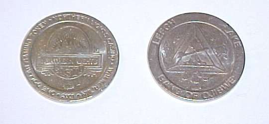 Northern Lights Minnesota Indian Casino Retired $1 Token Set