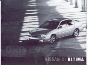 Classic New 2001 Nissan Altima Factory Brochure