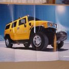 2003 Hummer H2 Unused Factory Poster Brochure