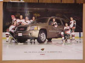 New Minnesota Wild Obsolete NHL Hockey Hogs GMC Poster