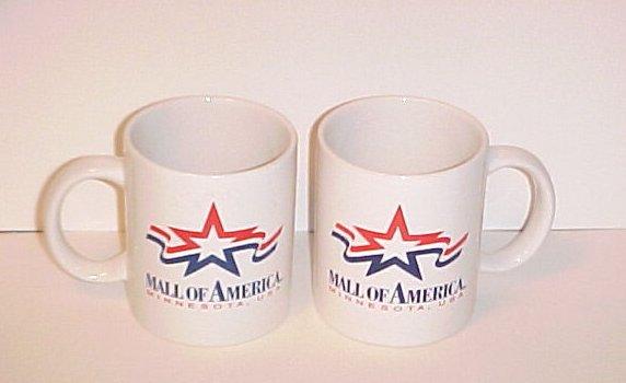Mall Of America Nickelodeon Universe Coffee Mug Pair
