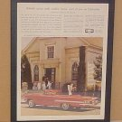 1960 Chevrolet Impala Vintage Magazine Ad With Glass Frame