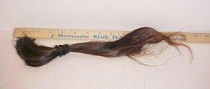 "Virgin Human Hair 15"" Dark Auburn Red 33B-3"