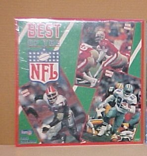 1995 Best Of The NFL Football Classic Calendar New In Wrapper