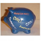 Awesome Cool Sweeeet Ceramic Piggy Bank