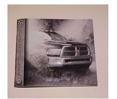 2011 Dodge Ram Pickup New Factory Sales Brochure