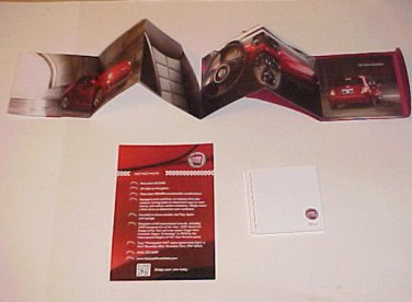 2011 Fiat 500 Brand New Brochure Automobile Set