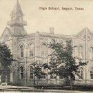 Town View HIGH SCHOOL, SEGUIN TEXAS Postcard VP-5938