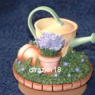 HERBS Jar Candle Topper Potted Plants Watering Can Gardening Theme Decor Decoration