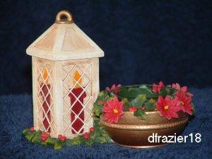 Tealight Tea Light Candle Holder Christmas WINTER LANTERN