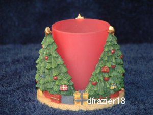 Votive Candle Holder Cuddler CHRISTMAS TREE