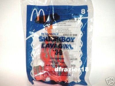 McDonalds McDonald's Happy Meal Toy 2005 #8 SHARKBOY LAVAGIRL IN 3-D LAVA SQUIRTER