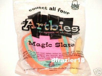 Arby Arbys Arby's Adventure Kids Meal Fast Food Toy 1999 MAGIC SLATE