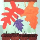 ACORN WELCOME Toland Garden Flag Large Applique Fall Autumn