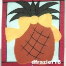 WELCOME HOME PINEAPPLE Toland Decorative Garden Flag Large Applique