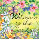 GARDEN WELCOME Toland Decorative Garden Flag Large