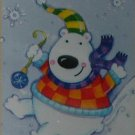 POLAR BEAR FUN Toland Decorative Garden Flag Mini Small Size Winter