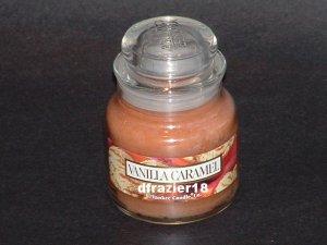 Yankee Candle 3.7 oz Jar Housewarmer VANILLA CARAMEL