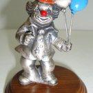 Vintage Pewter Clown