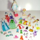 Vintage Magnetic Dolls With Stands