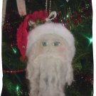 Handmade painted Santa Claus Ornie Ornament Christmas Prim