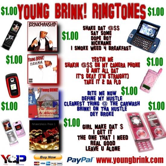 Young BRINK! Ringtones