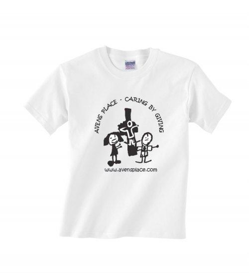 Youth White -Shirt Cross Logo S-XL