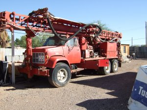 1978 Schramm T64HB Mineral / Water Well Drill Rig