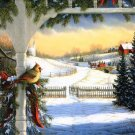 Frosty Winter Morning Cross Stitch Pattern***L@@K***