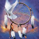 Dove Dream catcher Cross Stitch Pattern***L@@K***