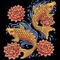 Koi Fish Cross Stitch Pattern***L@@K***