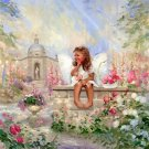 Angels Among The Roses Cross Stitch Pattern***L@@K***