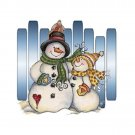 Snowman Pair Cross Stitch Pattern***L@@K***