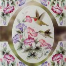 Humming Birds And Flowers Cross Stitch Pattern***L@@K***