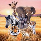African Wild Life Cross Stitch Pattern***L@@K***