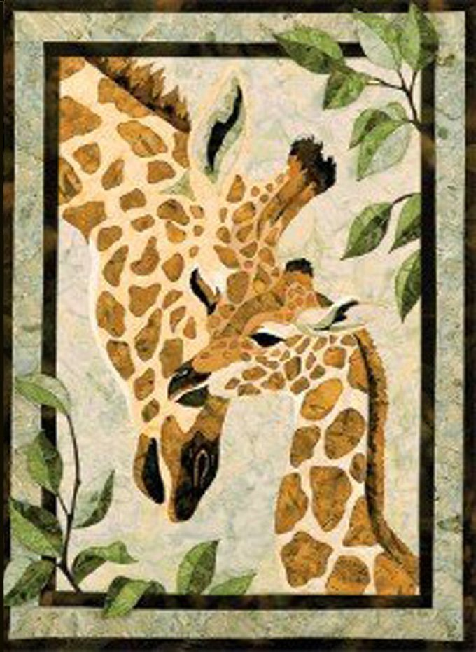 African Giraffes Cross Stitch Pattern***L@@K***