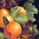 Butterflies and Fruit Cross Stitch Pattern***L@@K***