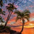 Sunset PaLms Cross Stitch Pattern***L@@K***